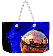 Humanity Calmly Watches The Extinction Weekender Tote Bag