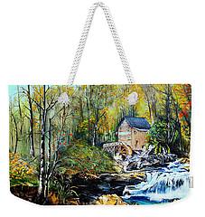 Glade Creek Weekender Tote Bag by Farzali Babekhan