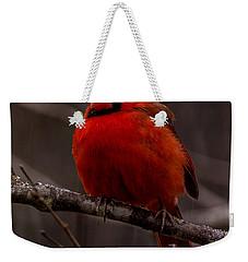 The Crimson Suit Weekender Tote Bag