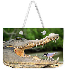 The Crocodile Bird Weekender Tote Bag