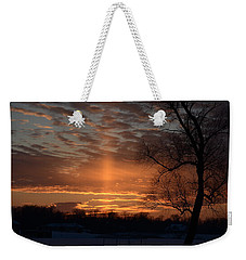 The Cross In The Sunset Weekender Tote Bag