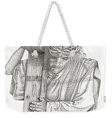 The Cross Weekender Tote Bag by Mayhem Mediums