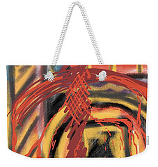 The Cross Over Weekender Tote Bag