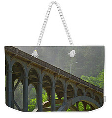 The Crossing Weekender Tote Bag by Laddie Halupa