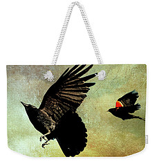 The Crow And The Blackbird Weekender Tote Bag
