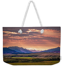 The Crow's Nest Pass Weekender Tote Bag