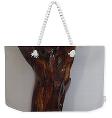 Weekender Tote Bag featuring the sculpture The Cry Of Angels by Esther Newman-Cohen
