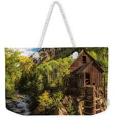 The Crystal Mill Weekender Tote Bag