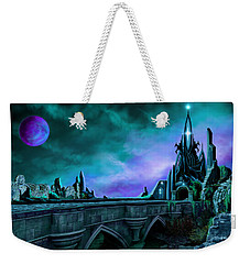 Weekender Tote Bag featuring the painting The Crystal Palace - Nightwish by James Christopher Hill