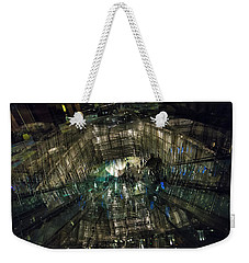 Weekender Tote Bag featuring the photograph The Crystal Station by Alex Lapidus