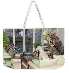The Curious Room Weekender Tote Bag