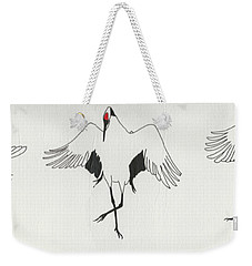 The Curtsy Lesson Weekender Tote Bag