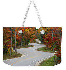 The Curvy Road Weekender Tote Bag by Greta Larson Photography