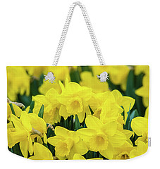 The Daffodil Patch Weekender Tote Bag by Bill Pevlor