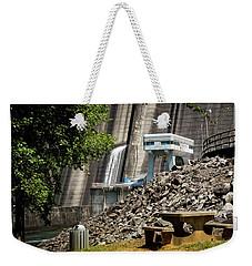 The Dam Picnic Table Weekender Tote Bag