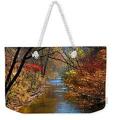 The Dan River Weekender Tote Bag by Kathryn Meyer