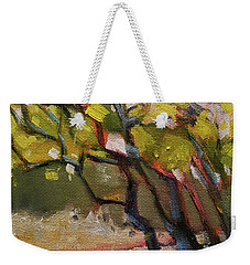 The Dance Abstract Tree Woods Forest Wild Nature Weekender Tote Bag
