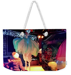 Weekender Tote Bag featuring the photograph The Dance- by JD Mims