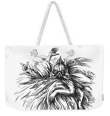 The Dance Macabre Weekender Tote Bag