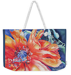 The Dance Weekender Tote Bag by Mary Haley-Rocks