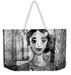 The Dancer In Black N White Weekender Tote Bag
