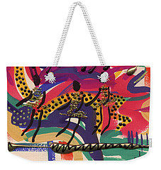 The Dancers Weekender Tote Bag by Angela L Walker