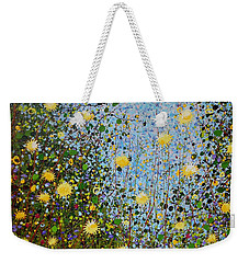 The Dandelion Patch Weekender Tote Bag