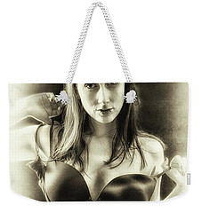 Weekender Tote Bag featuring the photograph The Daring  by Jacob Smith