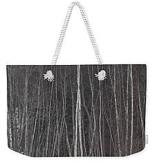 The Dark Beyond The Trees Weekender Tote Bag by Jackie Mueller-Jones