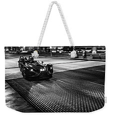 The Dark Knight Weekender Tote Bag by Randy Scherkenbach