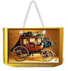 The Daugherty Express Weekender Tote Bag