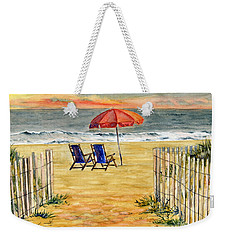 The Day Awaits  Weekender Tote Bag