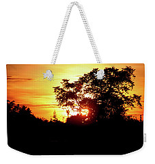The Day Bids Farewell Weekender Tote Bag