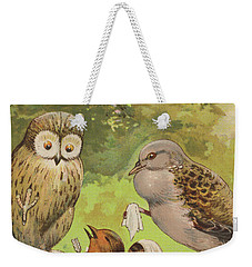 The Death Of Cock Robin Weekender Tote Bag