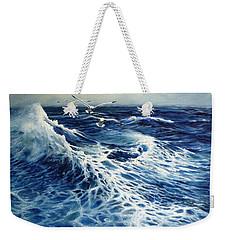 The Deep Blue Sea Weekender Tote Bag by Eileen Patten Oliver