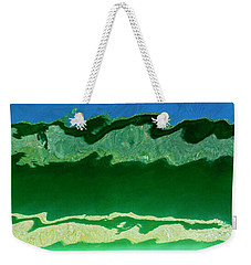 Weekender Tote Bag featuring the photograph The Deep End by Wendy Wilton