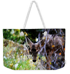 The Deer Weekender Tote Bag by Nature Macabre Photography