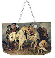 The Deerstalkers Return Weekender Tote Bag