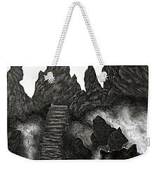 The Demon Cat Weekender Tote Bag