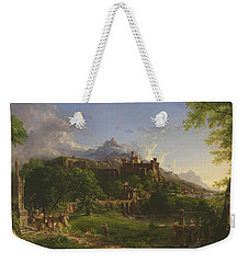 The Departure Weekender Tote Bag by Thomas Cole