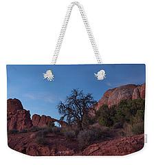 The Desert Night Begins Weekender Tote Bag