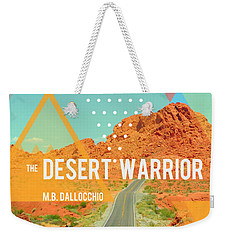 The Desert Warrior Book Cover Weekender Tote Bag