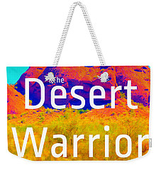 The Desert Warrior Poster V Weekender Tote Bag