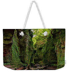 The Devil Pulpit At Finnich Glen Weekender Tote Bag