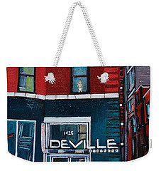 The Deville Weekender Tote Bag