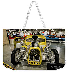 Weekender Tote Bag featuring the photograph The Devils Beast by Randy Scherkenbach