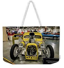 The Devils Beast Weekender Tote Bag by Randy Scherkenbach