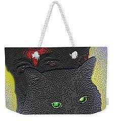 The Devils Mask Weekender Tote Bag