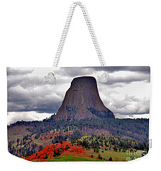 The Devils Tower Wy Weekender Tote Bag