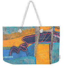 The Digital Age Weekender Tote Bag by Nancy Jolley